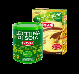 Soya Lecithin and Potato Puree