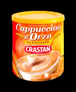 cappuccino d'orzo solubile da zuccherare crastan