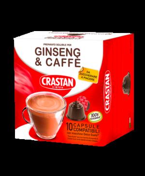 capsule ginseng e caffè compatibili dolce gusto crastan