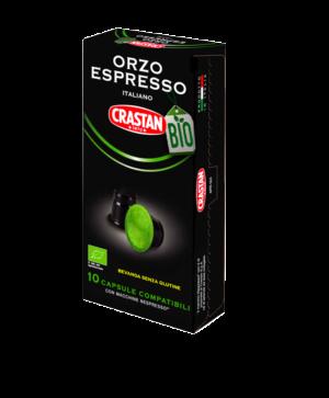 capsule orzo espresso biologico compatibili nespresso crastan