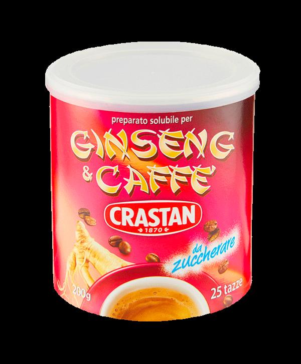 ginseng e caffè solubile in barattolo crastan