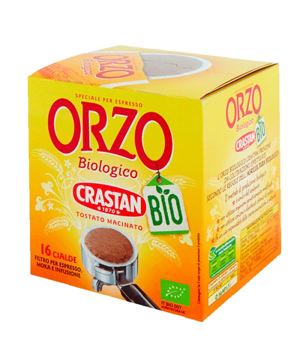 orzo biologico in cialde crastan