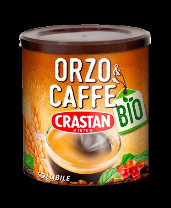 orzo e caffè bio solubili crastan