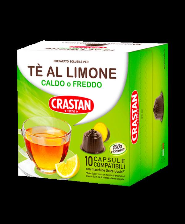 capsule te al limone compatibili dolce gusto crastan